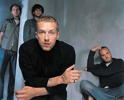 Coldplay ficou no topo da lista