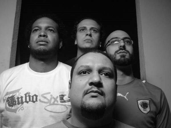 Os integrantes da banda