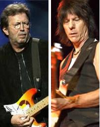 Eric Clapton e Jeff Beck juntos novamente
