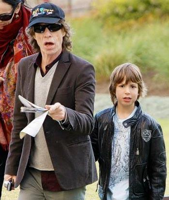 Mick Jagger e Lucas Gimenez
