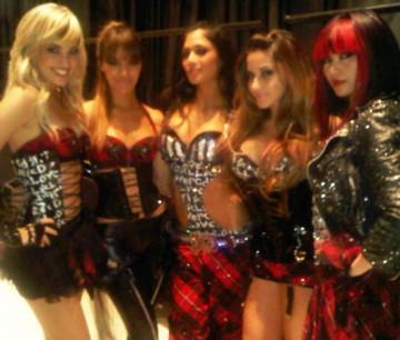 Nicole Scherzinger apresenta nova formação do Pussycat Dolls