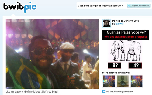 Will.I.am (twitpic)