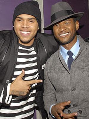 Chris Brown e Usher