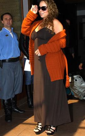 Mariah Carey surpreende por estar acima do peso