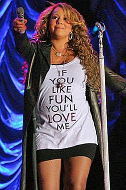 Confirmado!  Mariah Carey está grávida