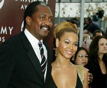 Beyonce e seu pai, Mathew Knowles