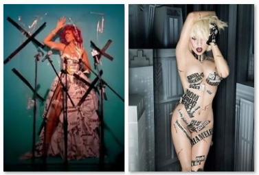 Comparação entre as imagens contestadas