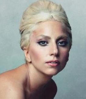 Lady Gaga posou nua para edição da revista 'Vanity Fair' de janeiro