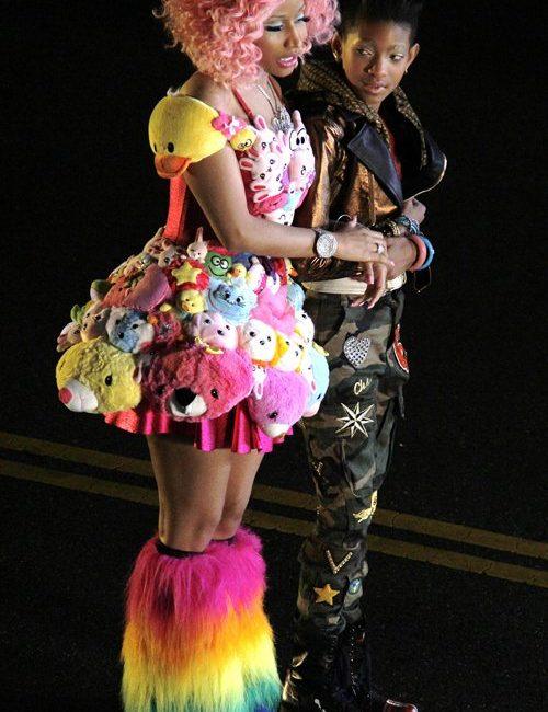 Filha de Will Smith lança clipe 'Fireball' com participação de Nicki Minaj