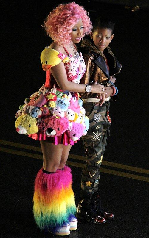 'Fireball': novo clipe de Willow Smith traz a participação de Nicki Minaj