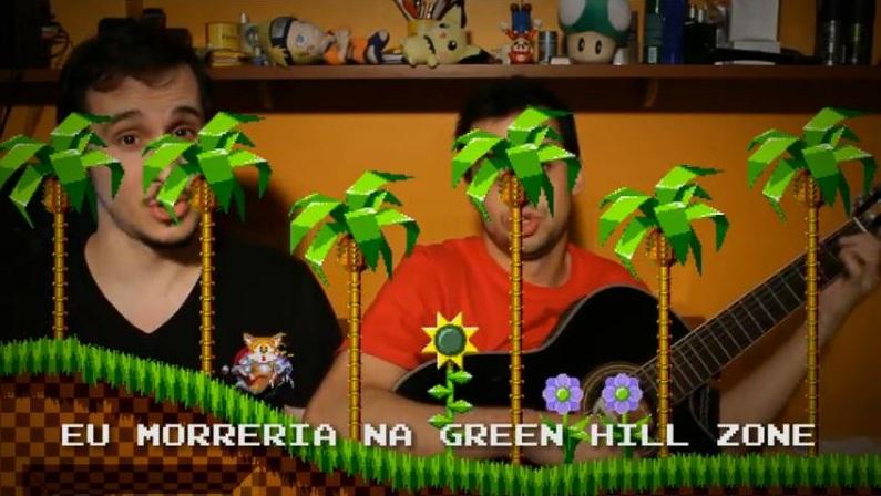 Edição caprichada! Vídeos gravados no quarto de Marcos têm cenas dos jogos