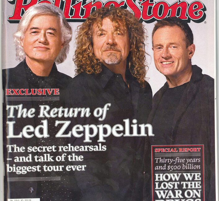Jimmy Page afasta rumores sobre reunião do Led Zeppelin