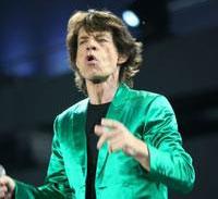 Mick Jagger, o primeiro colocado