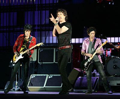 The Rolling Stones: banda pode fazer turnê completa em 2013.