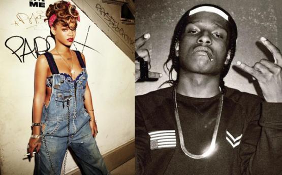 """""""Rihanna é uma maconheira e eu também!"""", diz A$AP Rocky"""
