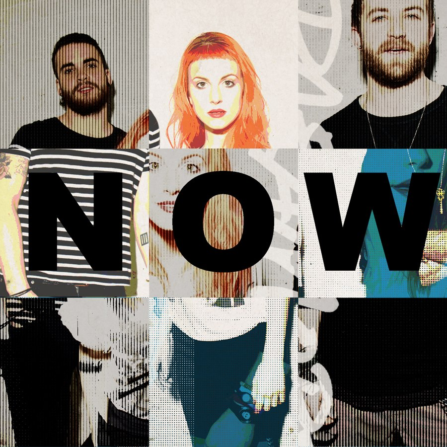 "Capa do single ""Now""."