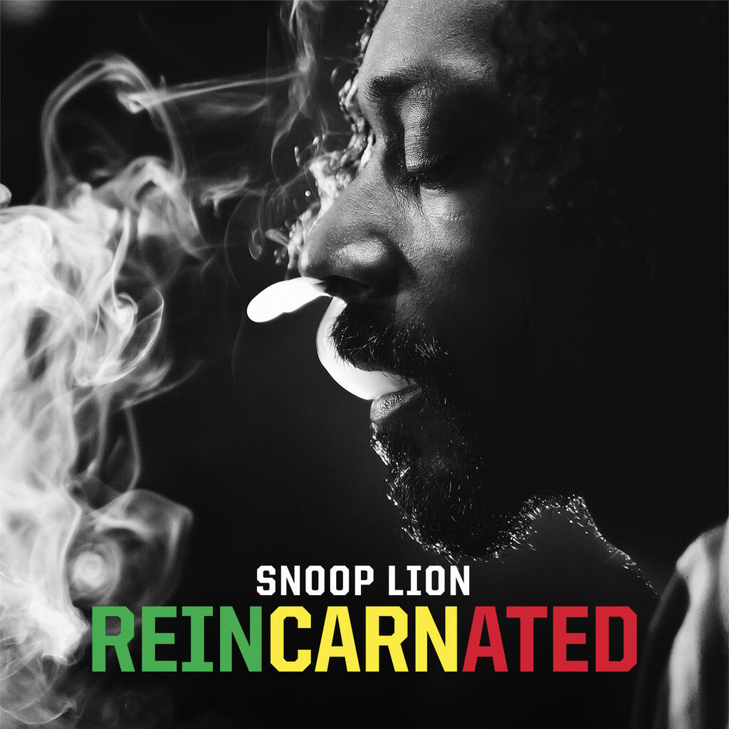 Snoop Lion e a capa do inédito'Reincarnated'