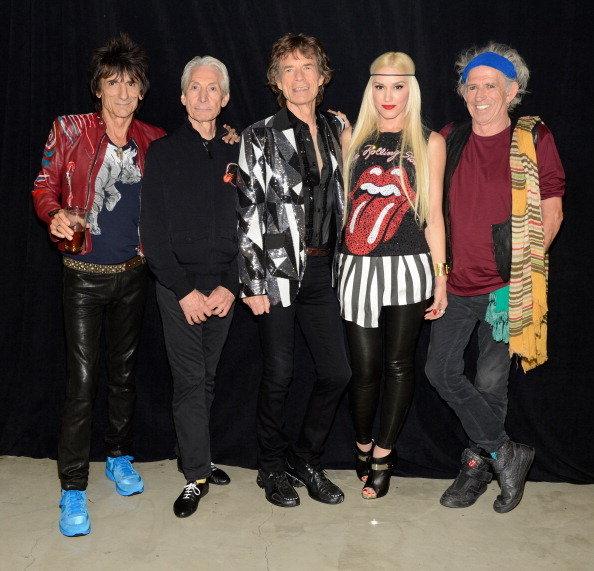 Rolling Stones: banda toca clássico ao lado de Gwen Stefani