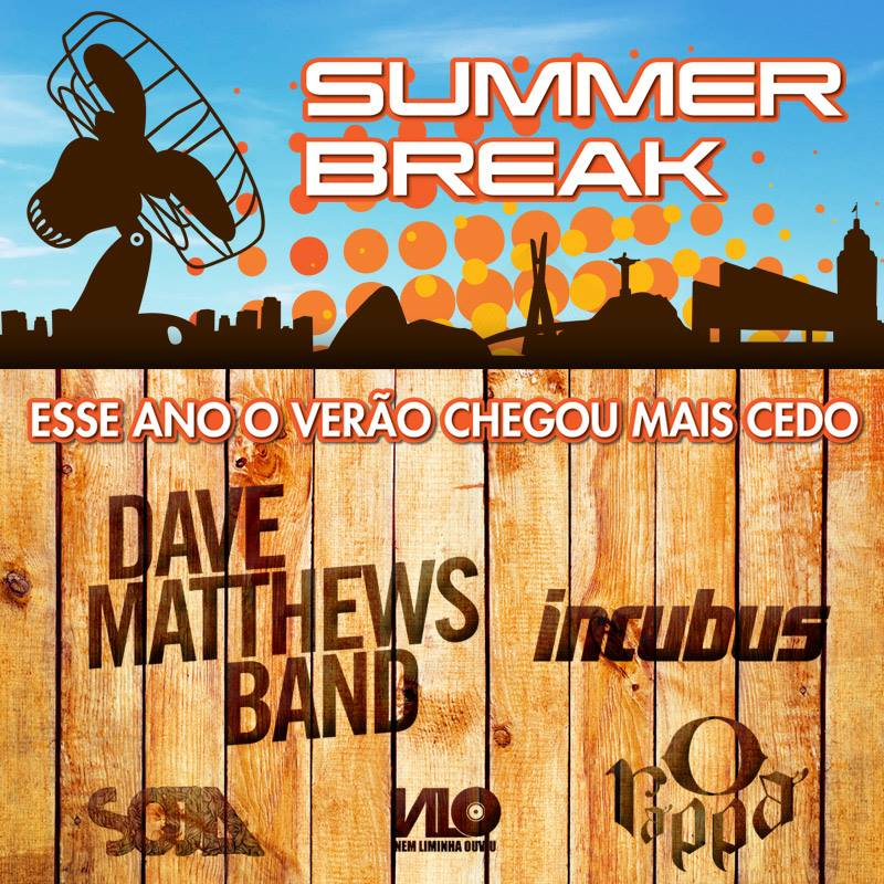 Cartaz do Summer Break Festival (Foto: Divulgação/ Facebook)