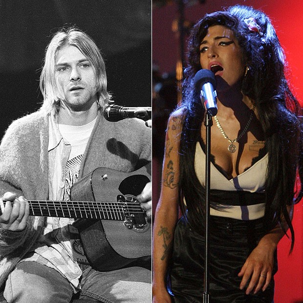 """Gene Simmons critica Kurt Cobain e Amy Winehouse: """"não são ícones"""""""
