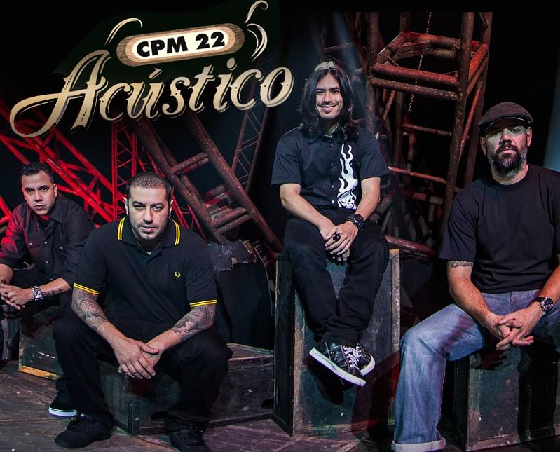 CPM 22: projeto acústico sai este mês (Foto: Divulgação/ Facebook)