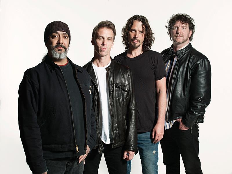 Soundgarden (foto) e Arcade Fire são os headliners do 2° dia (Divlugação)