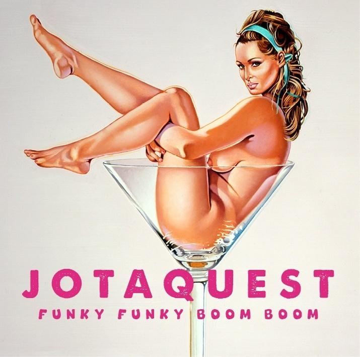 Capa de'Funky Funky Boom Boom' era utilizada no cartaz censurado (Divulgação)