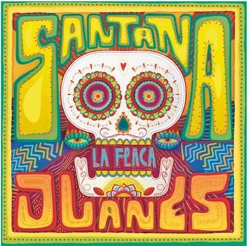 """Capa do single """"La Flaca"""", parceria de Santana e Juanes (Foto: Divulgação)"""