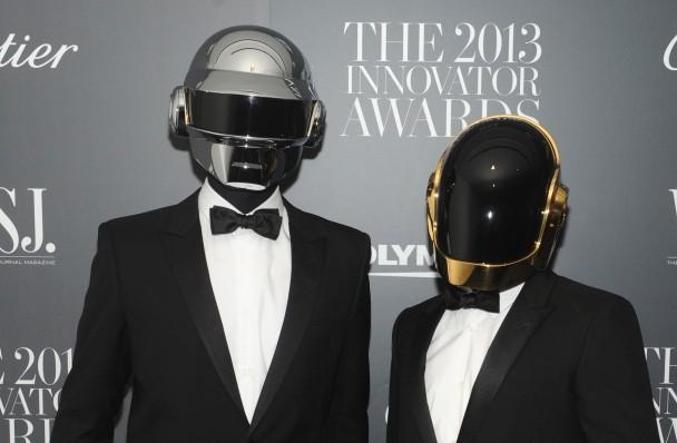 Daft Punk foi considerado o grande vencedor da noite (Getty Images)