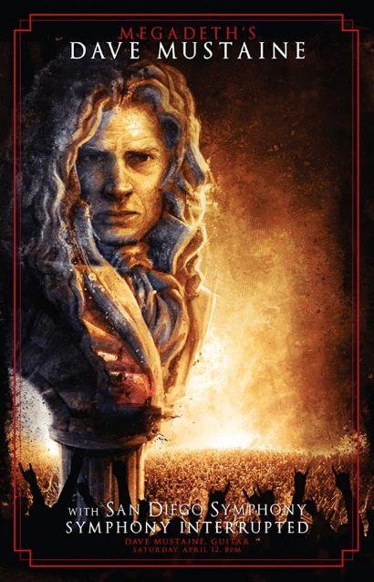 Diretora de orquestra elogia Dave Mustaine, líder do Megadeth