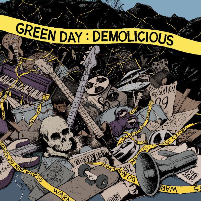 Capa da coletânea 'Demolicious' (Divulgação)