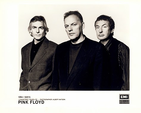 Richard Wright, David Gilmour e Nick Mason estavam no Pink Floyd à época (Div.)