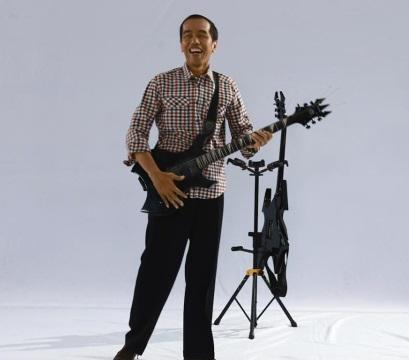 Novo presidente da Indonésia é fã de heavy metal