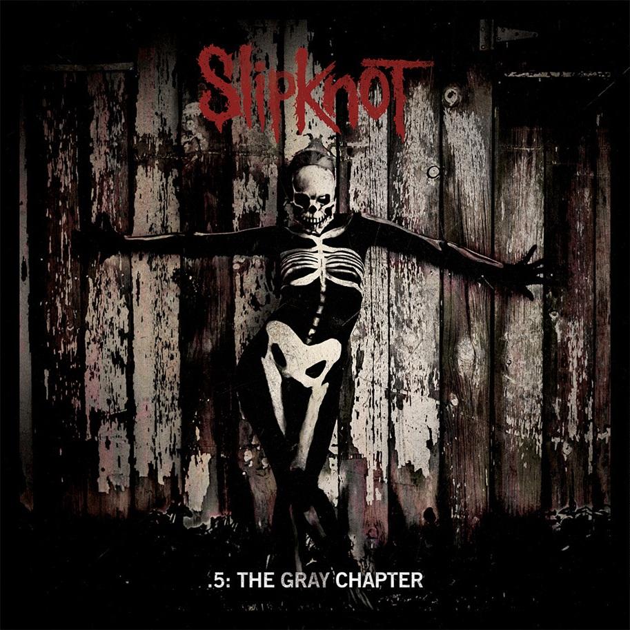 Capa de '.5: The Gray Chapter', novo disco do Slipknot (Divulgação)
