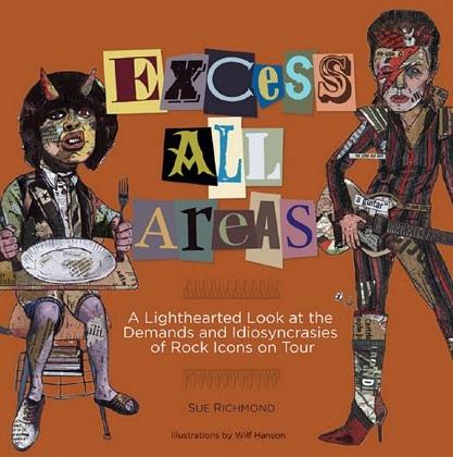 Livro mostra lista de exigências absurdas de estrelas da música