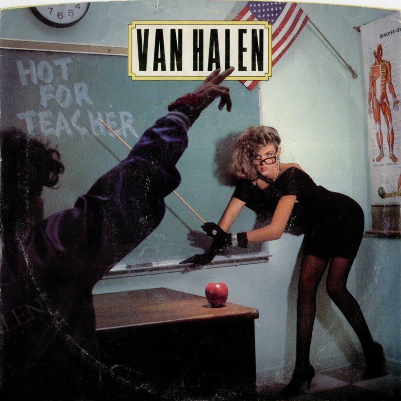 Van Halen ocupa topo da lista com'Hot For Teacher' (Divulgação)