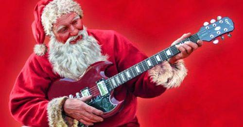 natal e rock papai noel