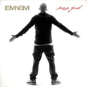Capa de'Rap God', single recordista de Eminem (Divulgação)