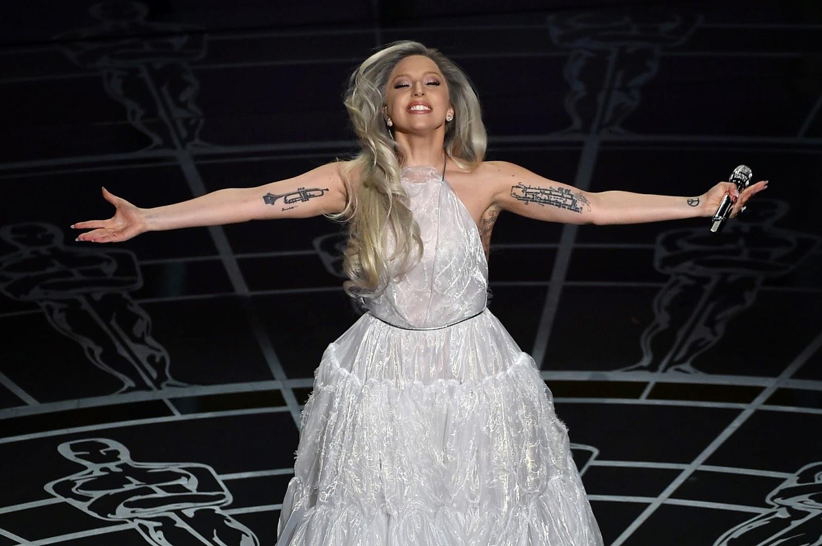 Lady Gaga chamou a atenção por potência vocal (Getty Images)
