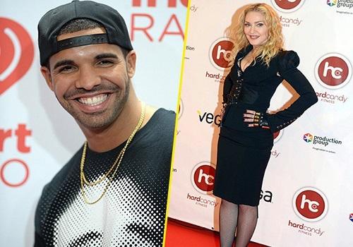 Madonna definiu vontade de ficar com Drake como ambição da vida dela (Getty)