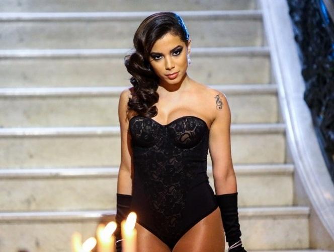 Anitta (foto) concorre com Ludmilla, Projota, Emicida e MC Guimê (Reprodução/YT)