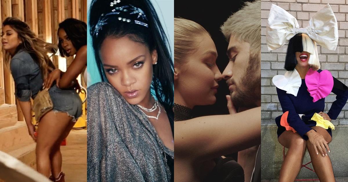 Saiba quais foram os 10 clipes mais assistidos no mundo em 2016