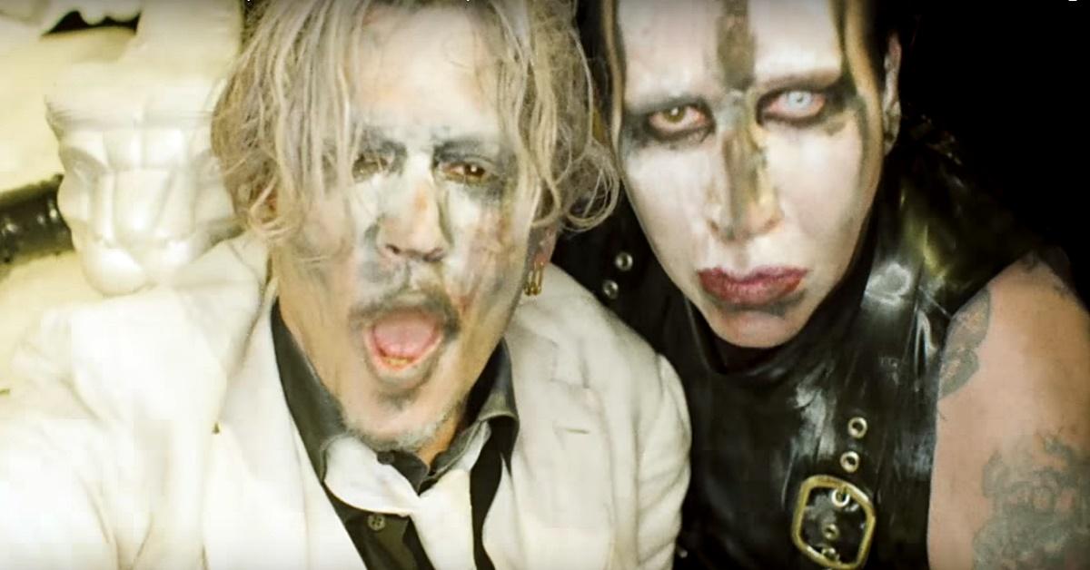 Com Johnny Depp, Marilyn Manson lança clipe polêmico para 'Say10'