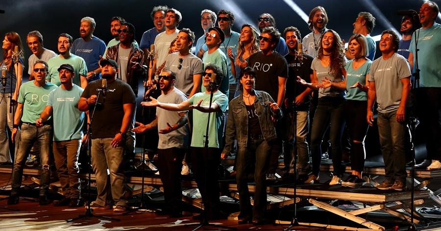 'Rio, Desistir Jamais': artistas gravam 'We Are The World' à carioca