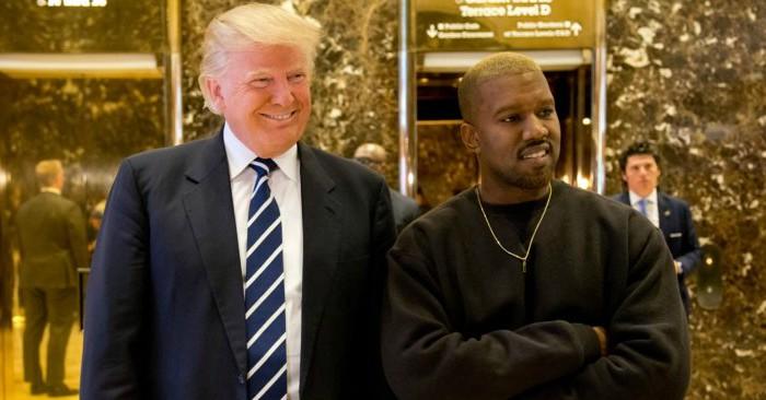 """Kanye West declara apoio ao """"irmão"""" Trump e famosos deixam de segui-lo"""