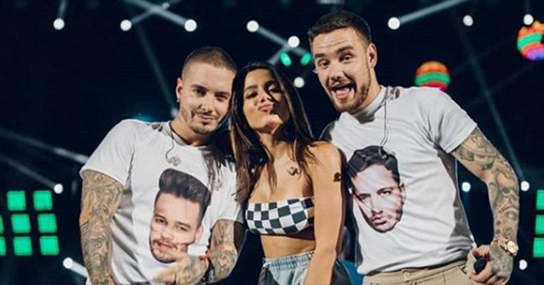 Liam Payne, ex-One Direction, chama Anitta de gostosa em entrevista e ela responde
