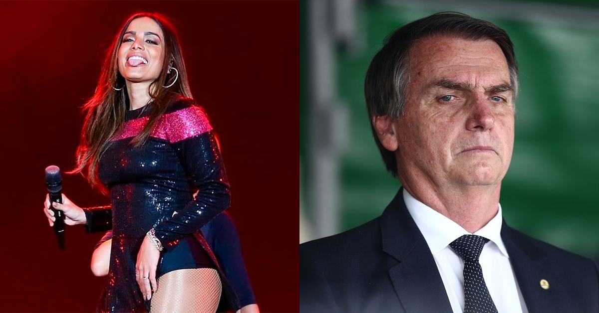 Anitta não se posiciona sobre Bolsonaro, é cobrada por fãs e ameaçada de boicote
