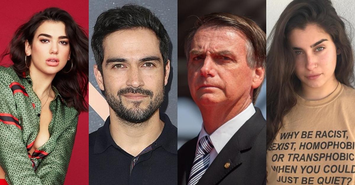 Artistas internacionais aderem às campanhas anti-Bolsonaro nas redes sociais