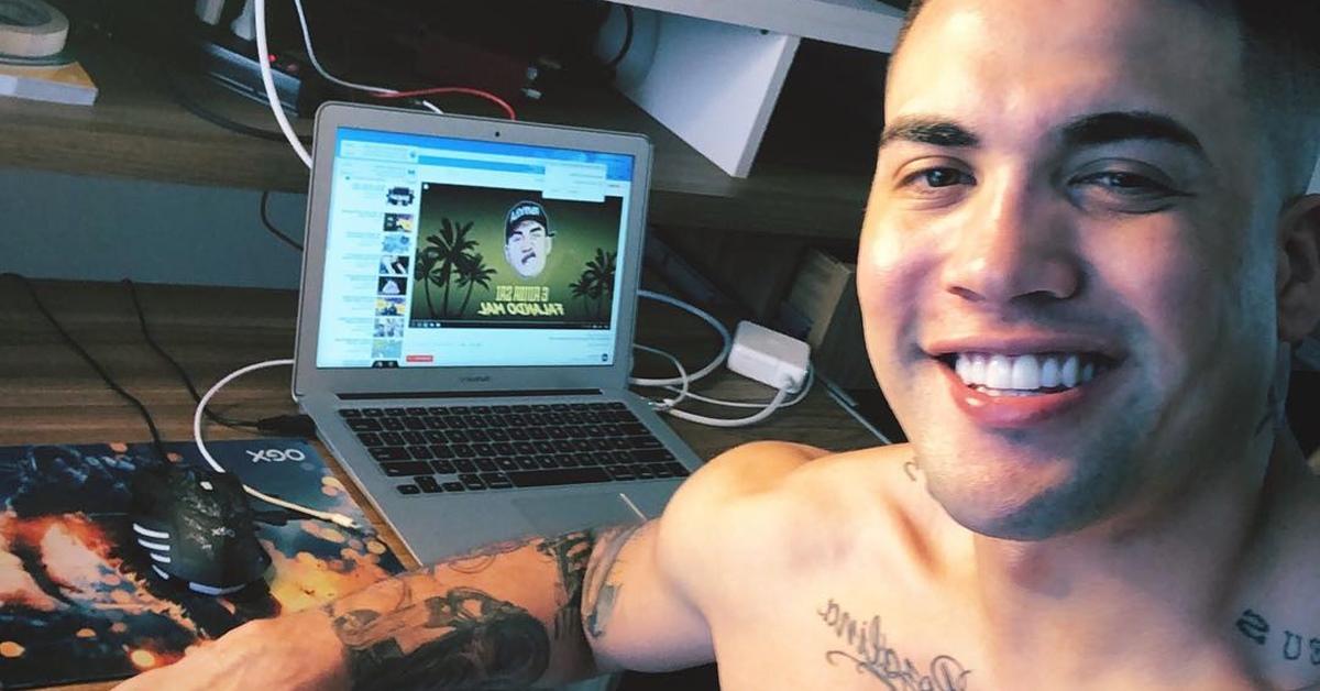 Vaza novo vídeo íntimo de MC Brisola na web e internautas reagem
