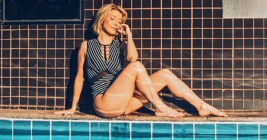 Luiza Possi revela que dorme de fralda: 'marido gosta'